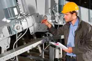 Supervisor de manutenção industrial